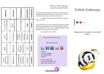 PuttyGateways Brochure