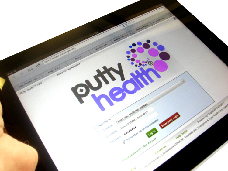iPad PuttyHealth